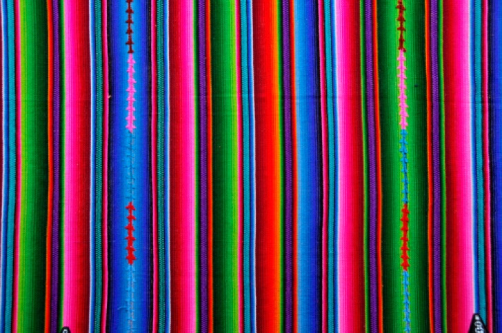 Texture of mexican fabric