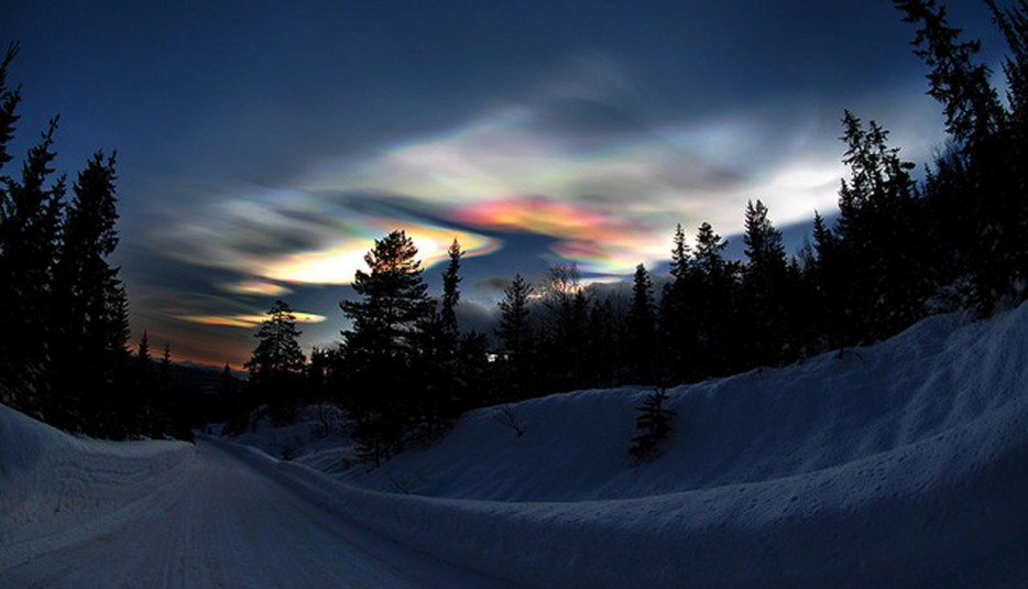 18 - Polar stratospheric cloud