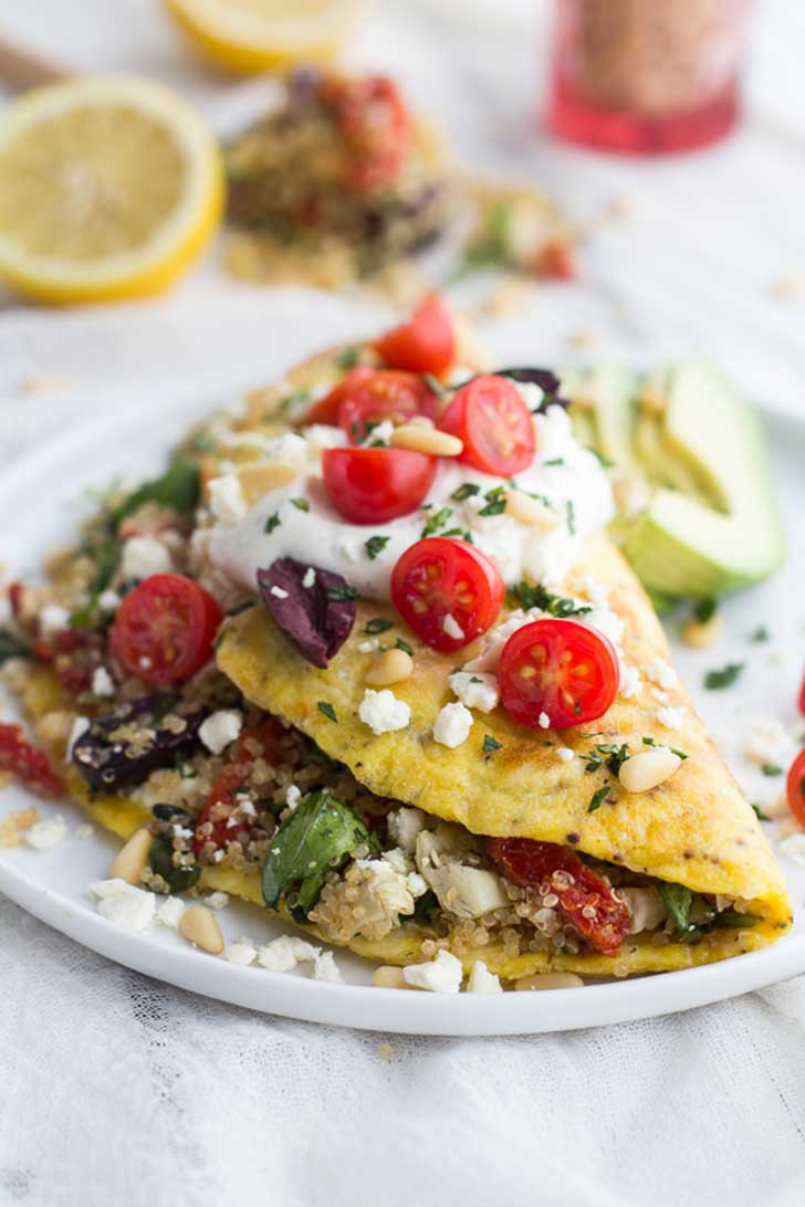 Greek-Quinoa-Dinner-Omelets-with-Feta-and-Tzatziki-13