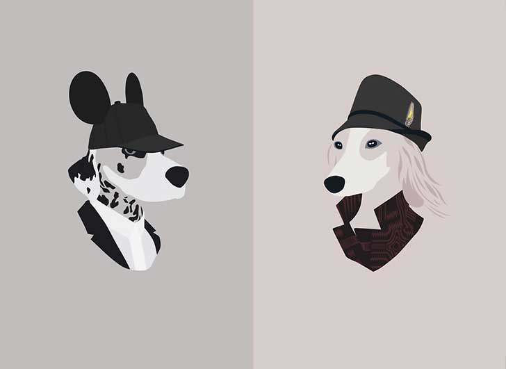 Woof-Models-I-Draw-Dogs-Who-Like-The-More-Fashionable-Side-Of-Life-9__880