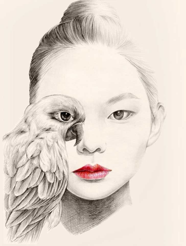 The-Girl-and-The-Birds-Drawings-4
