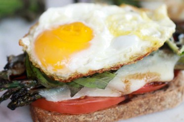 Roasted-Asparagus-Caprese-Melt-with-Balsamic-Drizzle-and-Fried-Egg-5