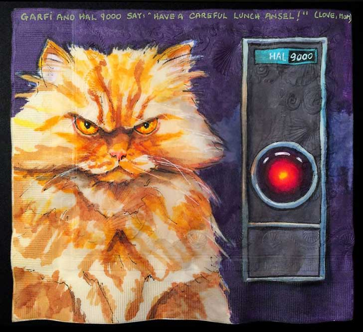 Cats-and-Robot-Drawn-on-Kids-Lunchbox-Napkins-8__880