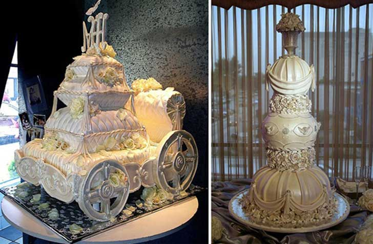 Unique Cake Designs For Wedding : Los 20 pasteles de bodas mas impresionantes que se han ...