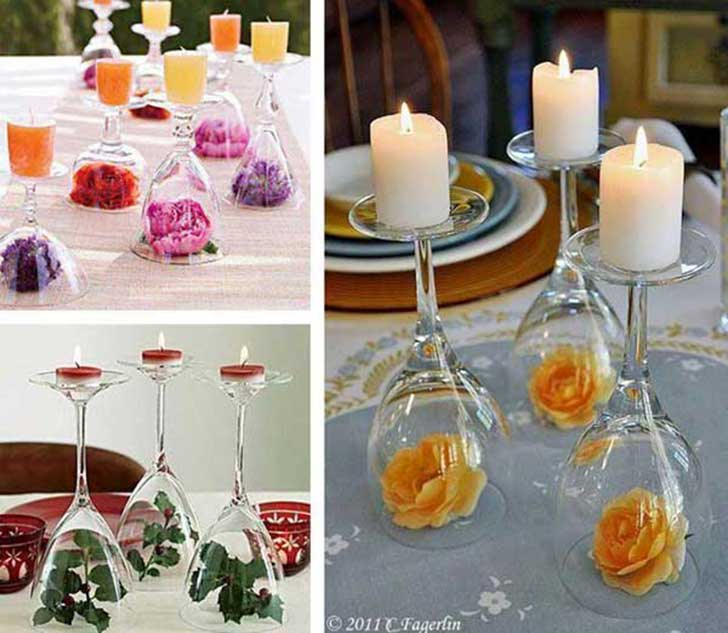 32 incre bles ideas econ micas que puedes hacer el d a de for Quick and inexpensive wedding decorations