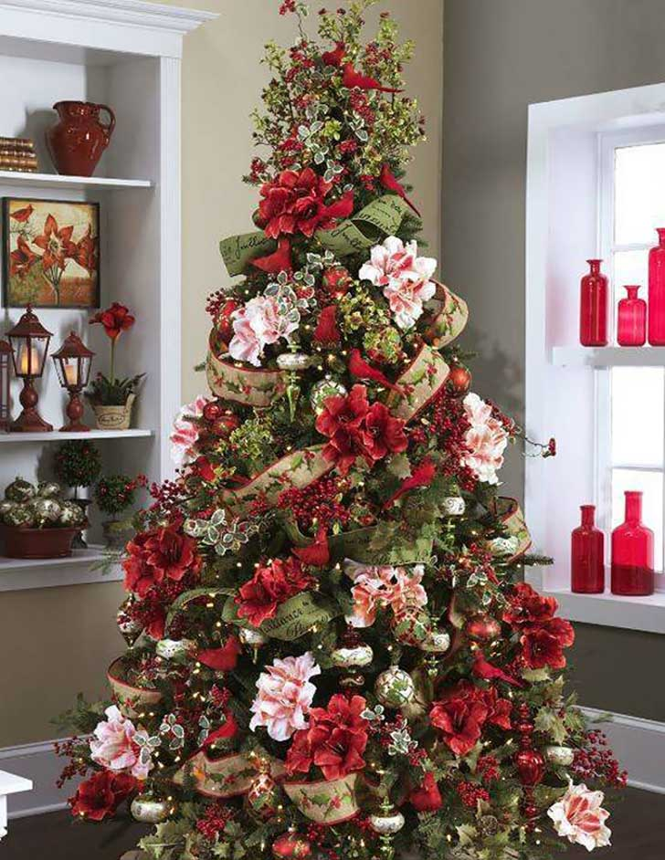 floral-christmas-tree-decorating-ideas-28__605