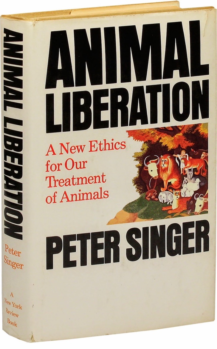 Cover - Singer, Peter - Animal Liberation (1975)