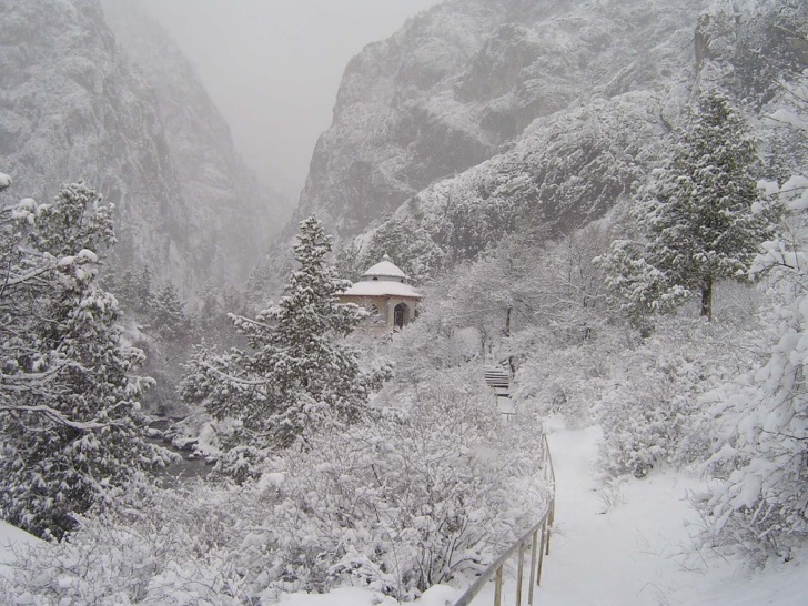 Western Tien-Shan, Padysha-Ata State Nature Reserve: Winter view