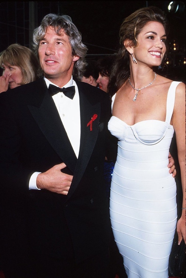 Richard Gere & Cindy Crawford (Photo by KMazur / Getty Images)