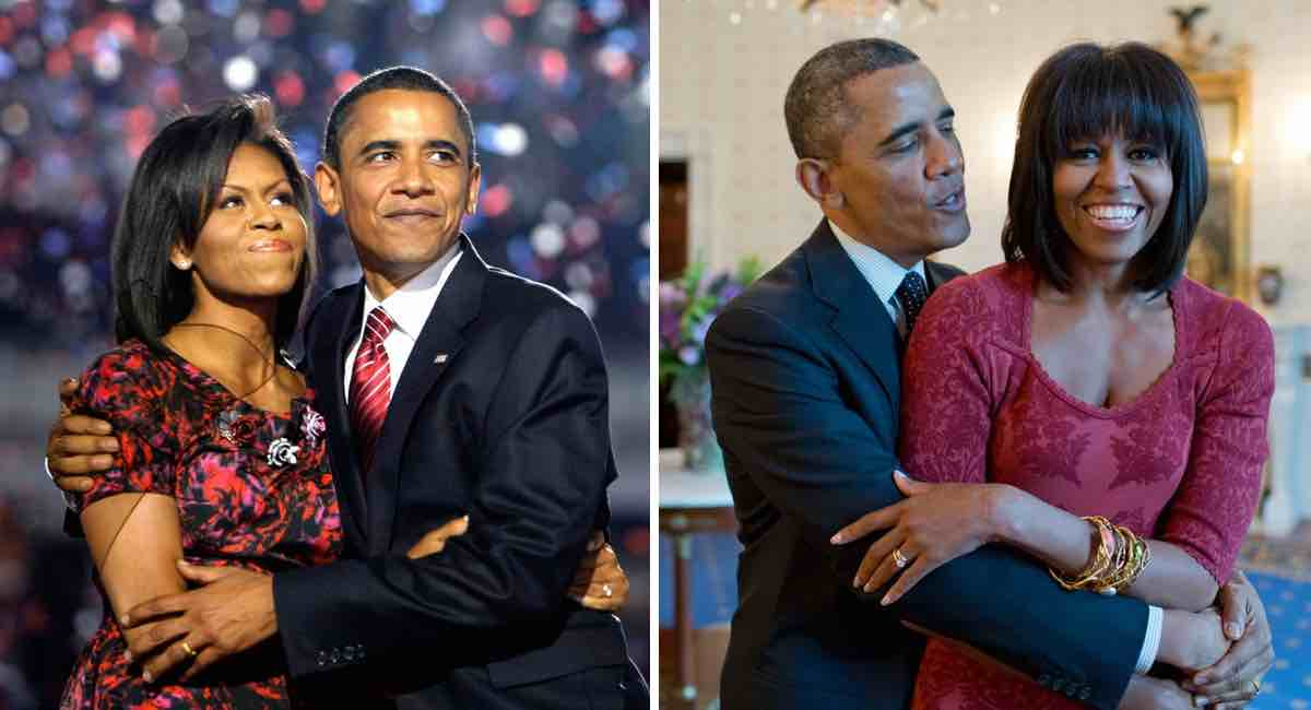 Are michelle and barack happily married