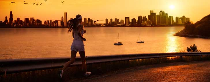 jogging-into-sunset