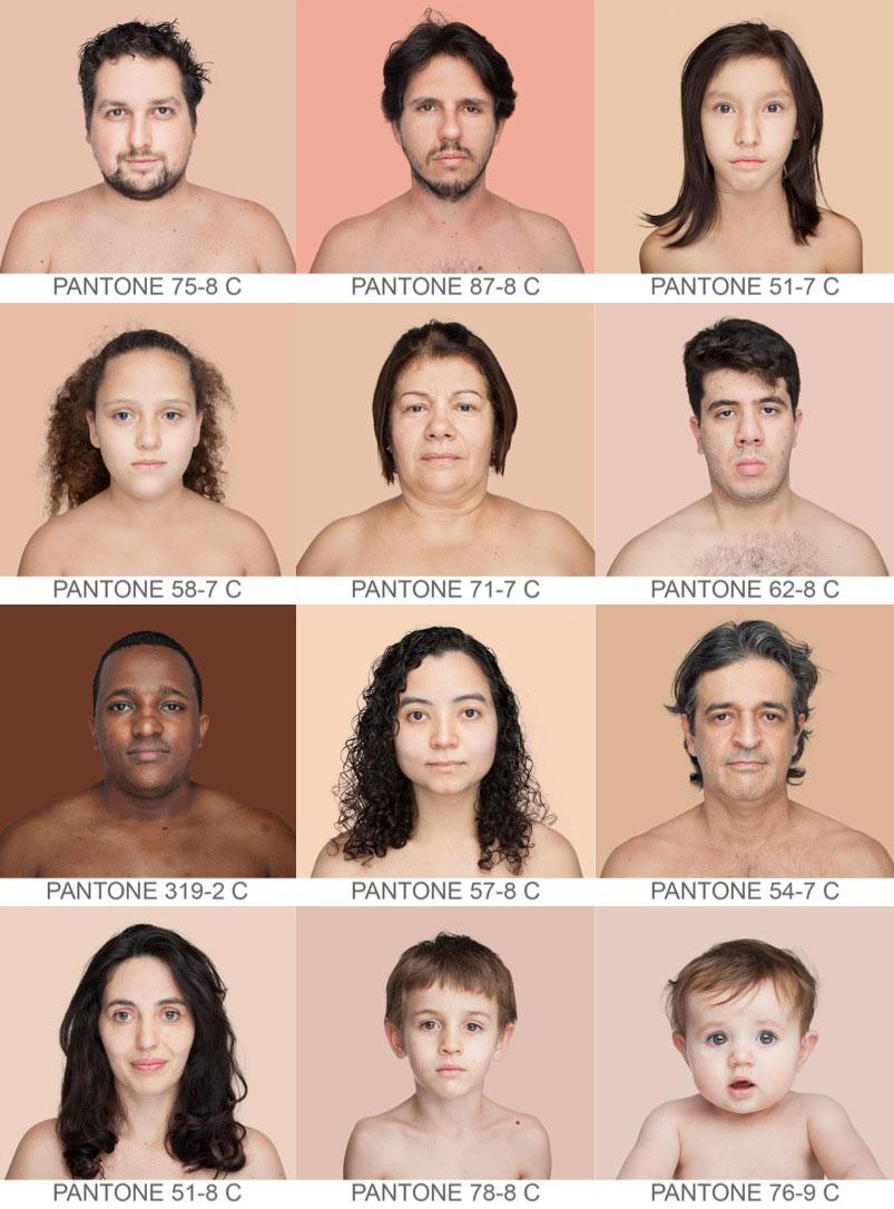 tipos de color de piel