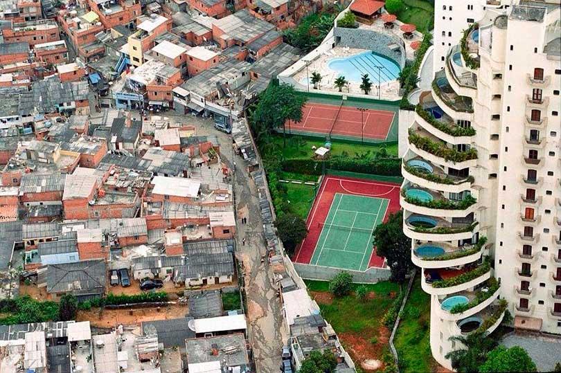 16 Imágenes Que Describen El Contraste Entre La Pobreza Y La ...