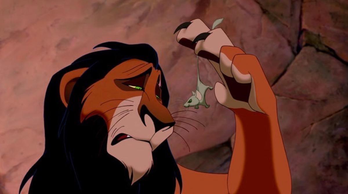Alguna vez te preguntaste qué le pasó a Scar del Rey León? Bueno, usaron su  piel para lo más cruel | Upsocl