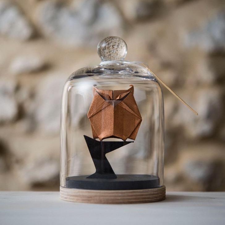 Figuras de origami en frascos 8 2 - Magníficas figuras de origami para decorar tu habitación
